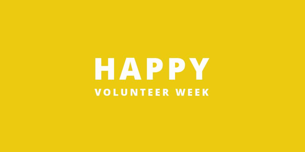Volunteer Week!
